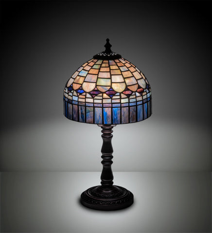"14""H Candice Tiffany Gothic Table Lamp"