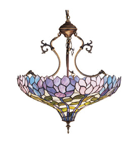 "20""W Tiffany Wisteria Inverted Pendan"
