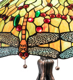 "30.5""H Tiffany Hanginghead Dragonfly Table Lamp"