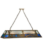 "60""L Train Billiard Pendant"
