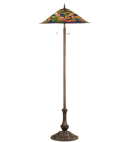 "64""H Tiffany Pond Lily Floor Lamp"