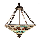 "17""Sq Valencia Mission Inverted Pendant"