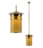 "16""W Fulton Travers Lantern Outdoor Pendant"