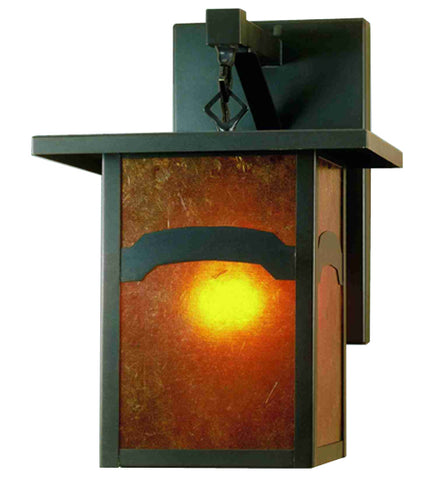 "9""W Hyde Park Mountain View Outdoor Wall Sconce"