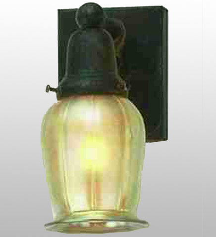 "4""W Revival Oyster Bay Favrile Wall Sconce"