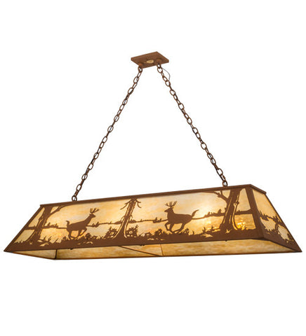 "60""L Deer Island/Billiard Oblong Pendant"