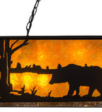 "48""L Wildlife Bear Island/Billiard Pendant"