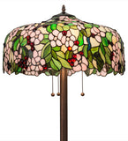 "63""H Tiffany Cherry Blossom Floor Lamp"