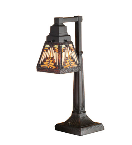"20""H Nuevo Tiffany Mission Desk Lamp"