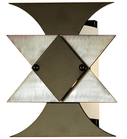 "12""W Butterfly Contemporary Wall Sconce"