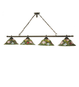 "72""L Rose Bush 4 Lt Kitchen Island Lighting"
