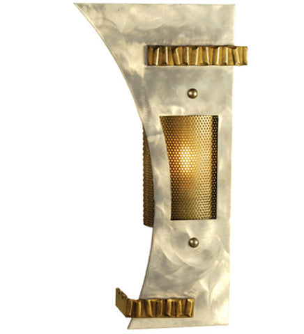 "11""W Sophia Left Industrial Wall Sconce"