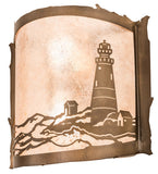 "15""W Lighthouse Wall Sconce"