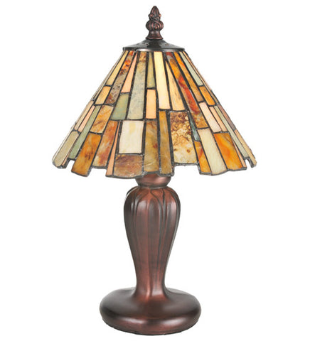 "13""H Jadestone Table Lamp"