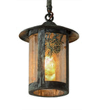 "6""W Fulton Winter Pine Outdoor Pendant"