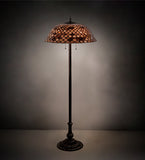 "64""H Tiffany Fishscale Floor Lamp"
