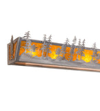 "60""W Tall Pines Vanity Light"