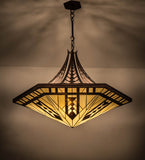 "42""W Tiffany Sonoma Southwest Inverted Pendant"