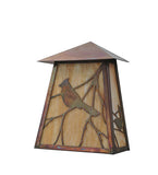 "9""W Stillwater Song Bird Outdoor Wall Sconce"
