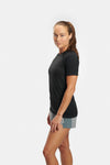 RYU Womens Vapor Crew Neck in Black