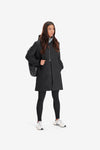 RYU Womens Sideline Parka in Black