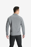 RYU Mens Woven Bomber Jacket in Charcoal