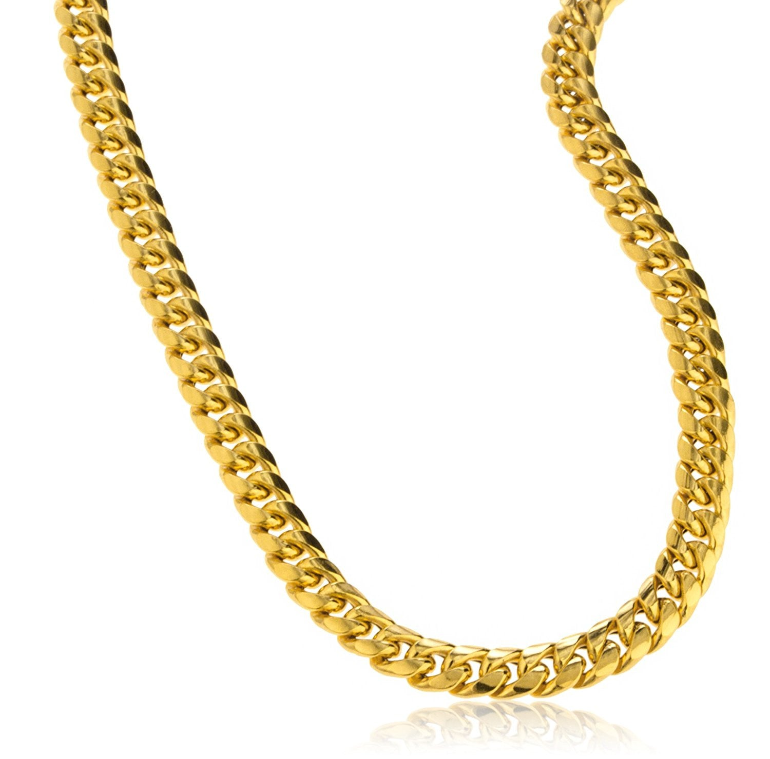 products gold chain yellow line the necklace full snake