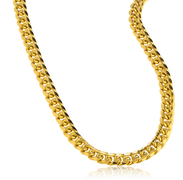 6mm Miami Cuban Chain Necklace