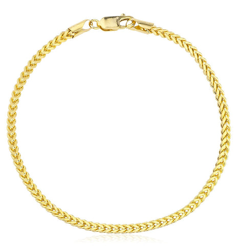2.8mm Franco Chain Bracelet