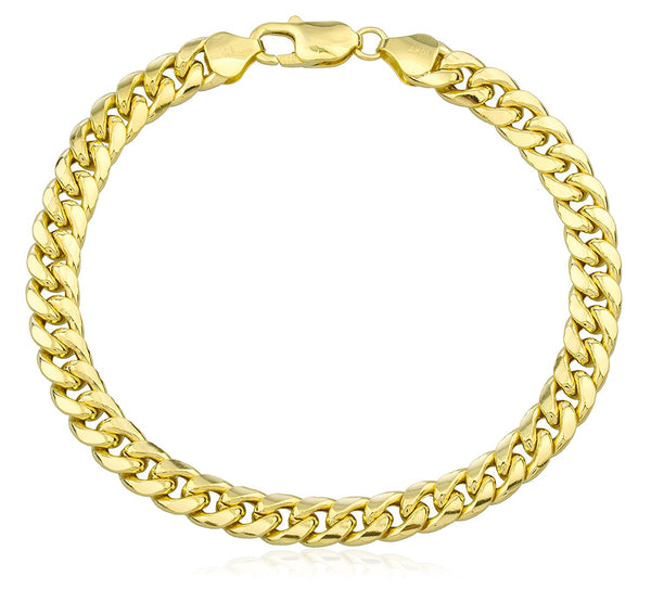 bracelet yellow watches inch jewelry free byzantine gold fremada product