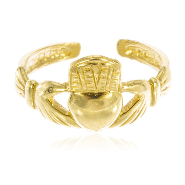 Irish Claddagh Toe Ring