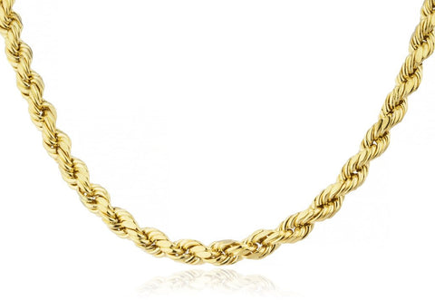 14k 5mm rope chain