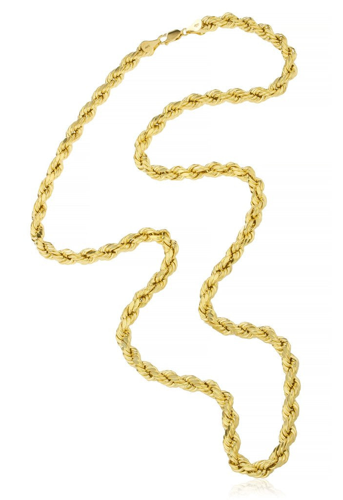 14k gold rope chain 2