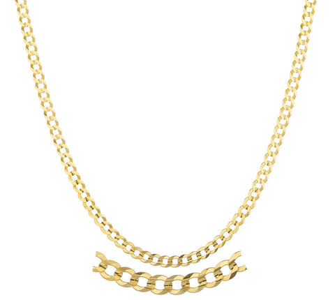 3mm Solid Cuban Chain