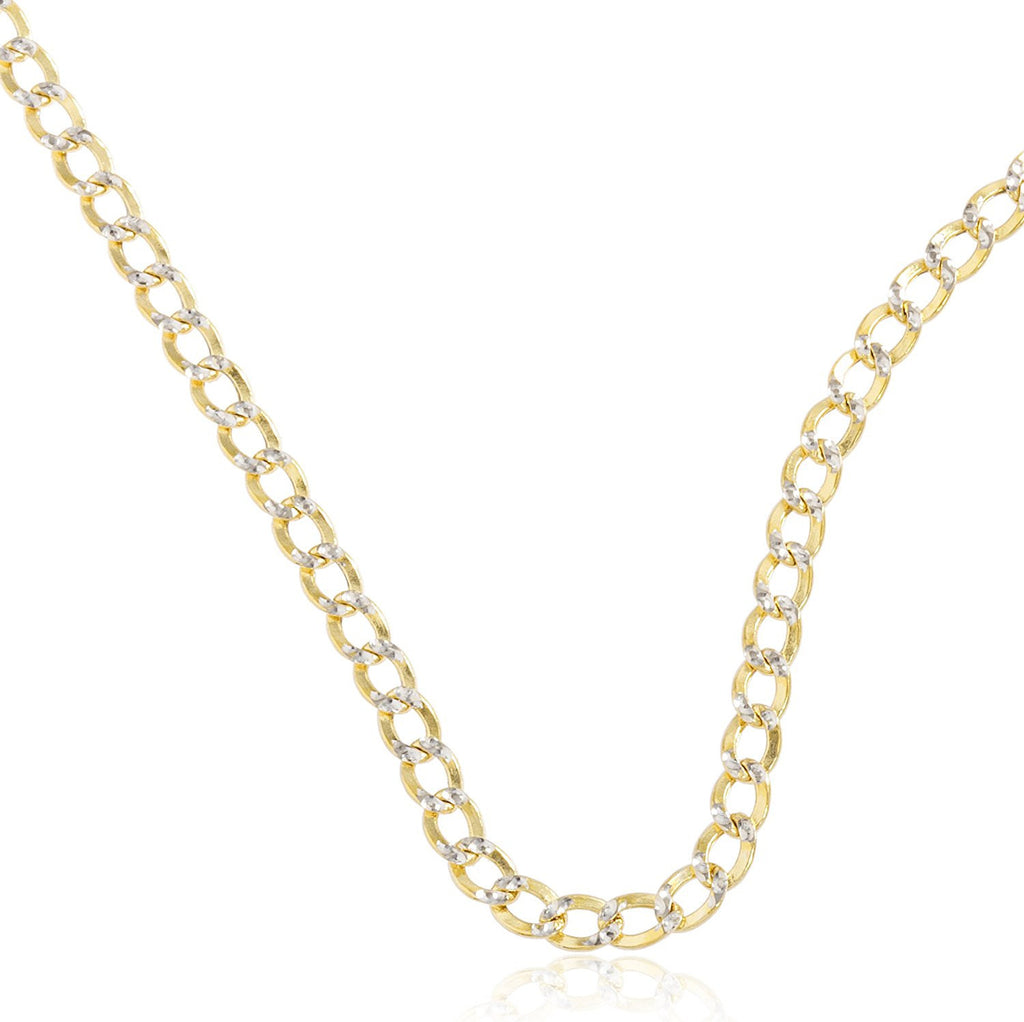 4.2mm Pave Cuban Chain