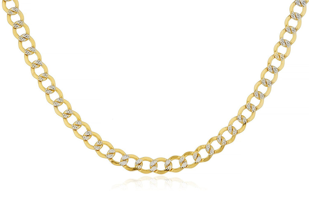 6.8mm Pave Cuban Chain