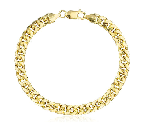 7.4mm Miami Cuban Chain Bracelet