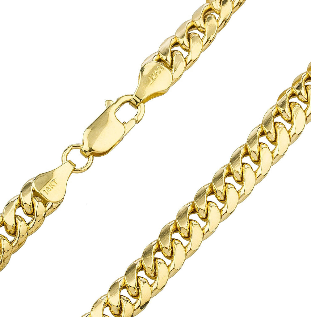 13.2mm Miami Cuban Hollow Chain