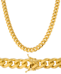 7mm Miami Cuban Chain Necklace