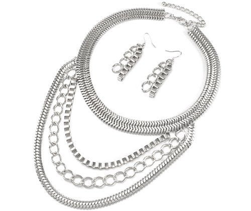 18 Inch Adjustable Snake Chain With...
