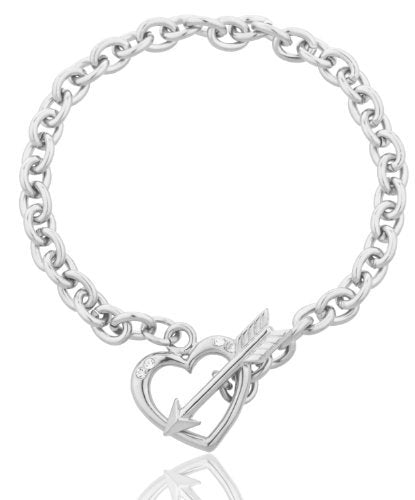 Heart and Arrow Charm 7.5 Inch...