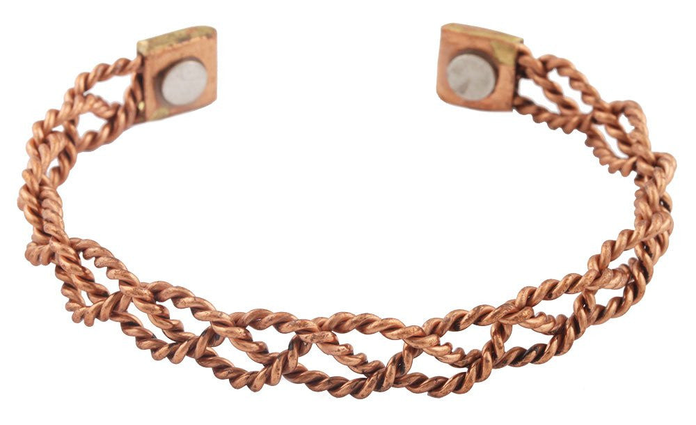 2 Pieces Of Copper Twisted Rope...