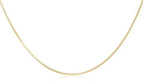 14k Yellow Gold .55mm Box Chain...