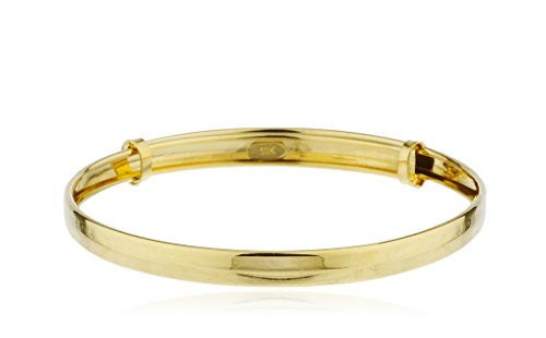 10k Yellow Gold 5 Inch Adjustable...