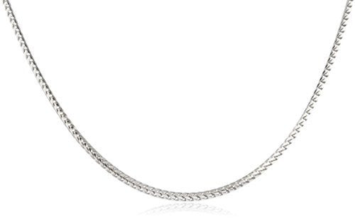 925 Sterling Silver 1.5mm Franco Chain - Available in 16-30 Inches