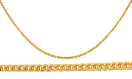 14k Yellow Gold Franco Chain Necklace...
