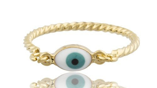 Evil Eye Ring Set