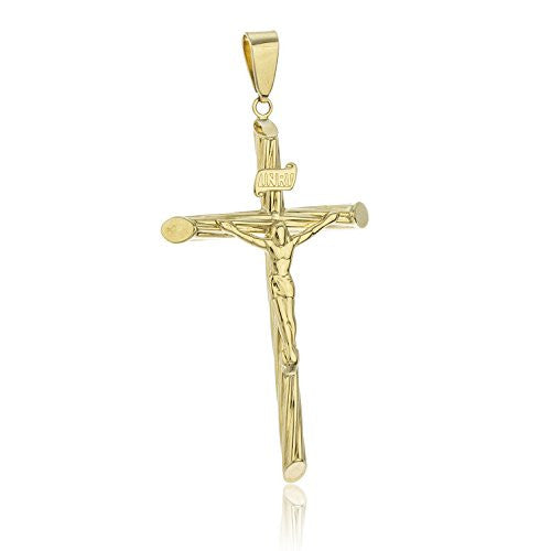 10K Yellow Gold Large Cross with...
