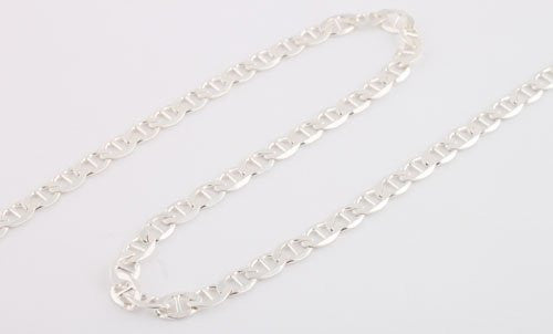 Sterling Silver 30 Inch Gucci Chain...