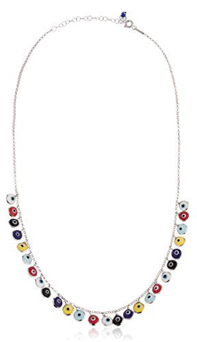 925 Sterling Silver Multicolor Mini Evil...